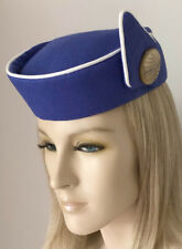 Custom Made REPRODUCTION PAN AM STEWARDESS HAT Flight Attendant COSPLAY Costume