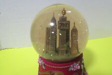 The Millenium Yr 2000 Musical Snow Globe Plays Auld Lang Syne New Year Video
