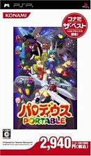 Used Game PSP Parodius Portable the best From Japan