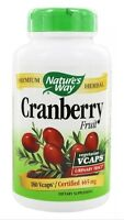 Nature's Way - Cranberry Fruit 465 mg. - 180 Veg Caps - SALE! FAST SHIPPING