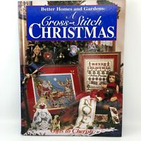 A Cross Stitch Christmas GIFTS TO CHERISH Better Homes and Gardens Patterns 1996