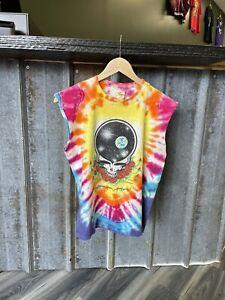 Vintage Grateful Dead T-Shirt Mens Medium Space Your Face Tie Dye 1987 USA Rare