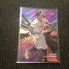 2015 TOPPS HIGH TEK ADAM JONES *PURPLE RAINBOW*  BALTIMORE ORIOLES
