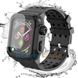 For Apple Watch Series 4/5/6/SE 40/44mm Shockproof Case Cover Screen Protector