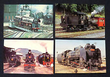 Four Railroad Postcards- Not U.S.