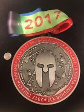 2017 Reebok Spartan Race 11X Trifecta Medal