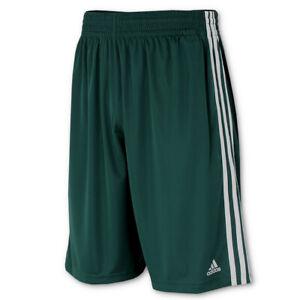 adidas Herren Short Climalite Practice Sportshort Basketballshort grün-weiß