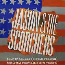 "JASON & THE SCORCHERS - Shop It Around (12"") (VG-/VG+)"