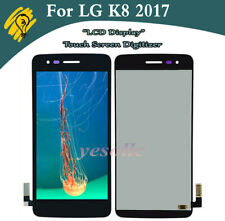 For LG K8 2017 M200N Screen LCD Touch Digitizer Display Black Replacement
