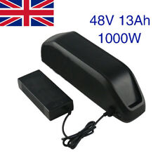 48V 13Ah 1000W Ebike Li-ion Battery Downtube Battery for Electric Motorbike UK