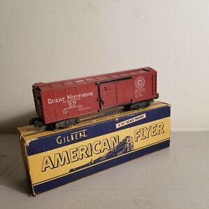 American Flyer No. 913 Great Northern Box Car<+++>Original Box<+++>