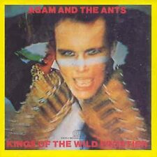 ADAM AND THE ANTS : KINGS OF THE WILD FRONTIER  (CD) Sealed