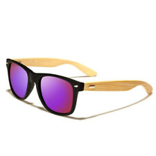 Unisex Bamboo Sunglasses Wooden Wood Mens Womens Retro Vintage Summer Glasses