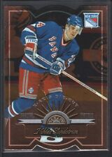 NIKLAS SUNDSTROM 1997/98 LEAF FRACTAL MATRIX #36 DIE CUT NEW YORK RANGERS SP $8