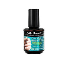 Mia Secret Long Lasting Airbrush Top Coat NO UV LED LAMP NEEDED (AB-310)