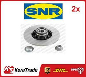 2x OE QUALITY BRAKE DISC SET KF15954U SNR P
