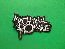 HEAVY METAL PUNK ROCK MUSIC SEW ON / IRON ON PATCH:- MY CHEMICAL ROMANCE MCR