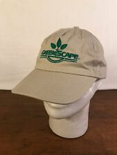 Men's Cotton Tan Greenscape Adjustable Baseball Cap Hat (CH7)