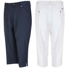 Capri, Cropped Polyester Women's Trousers 26L Inside Leg