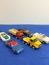 Lot of 6 Original Vintage Siku Die Cast Cars Trucks Germany