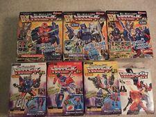 Kabaya Transformers Figures Lot of 8 Star Convoy G1 Grimlock Galvatron