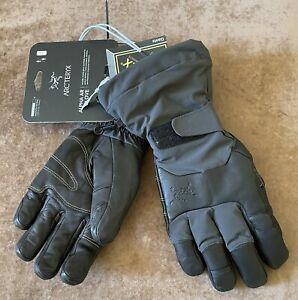 Arc'teryx Alpha AR Gloves / Mens Medium / Graphite Color / NWT