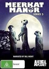 MEERKAT MANOR Series 3 Narrated By Bill Nighy 2DVD NEW