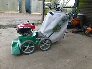 Billy Goat Garden Vacuum - Honda Engine - FULLY SERVICED AND READY FOR WORK
