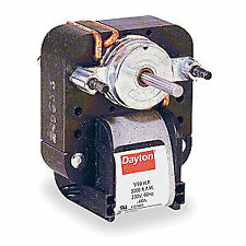 DAYTON C-Frame Motor,Shaded Pole,Auto,1 In. L, 4M076D