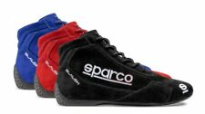 Sparco Slalom RB-3.1 Race Rally Racing Boots Suede & Leather  - FIA Approved