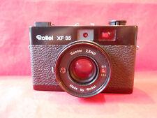 Fotokamera Rollei XF 35  Objektiv Made by Rollei Sonnar 2,3/40 mit Tasche