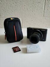 Sony Cyber-shot RX100 V 20.1MP Digital Camera - Black - with Extras
