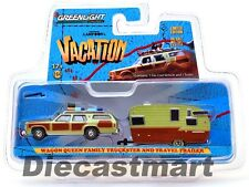 1979 QUEEN WAGON NATIONAL LAMPOON'S VACATIONS WITH TRAILER 1:64 GREENLIGHT 51036