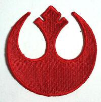 "Star Wars Rebel Alliance Die-Cut Logo 3"" Uniform Patch-USA Mailed (SWPA-CD-09)"