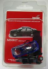 Herpa 012416-006  MiniKit: BMW 3er™ Limousine E46 - blau / blue
