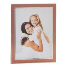 """Gorgeous Metal Photo Frame With Copper and Silver Finish 6"""" x 8"""" 71768"""