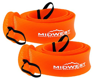 Midwest Outfitters Rod Socks Fishing Rod Sleeve Cover -2Pack- Rod Sock Fishing -
