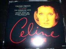 Celine Dion Think Twice (Austria) CD Single – Like New