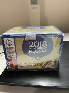 2018 PANINI RUSSIA FIFA WORLD CUP - FACTORY SEALED 100 PACK BOX