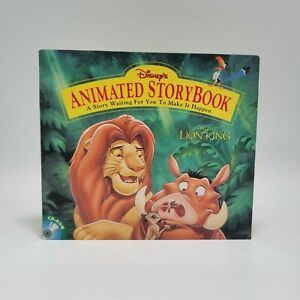 The Lion King Animated Story Book Disney 1994  Interactive CD-ROM Windows