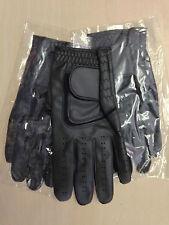 Job lot 50 JL black Golf plain all weather synthetic gloves Size large