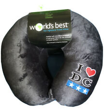 World's Best Travel Neck Pillow I ❤️DC Super Soft BRAND NEW snap on- Great Gift
