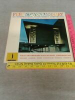 FEEC 50TH ANNIVERSARY 1966 - YELLOW VINYL LP AR-1705 JACK BENNY DUKE ELLINGTON