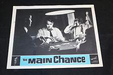 1964 The Main Chance Lobby Card Edward de Souza Tracy Reed  (C-7)