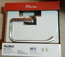 Pfister Auden Spot Defense Brushed Nickel Wall Mount Towel Ring