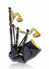 Highland Bagpipes Delrin Set Synthetic No Ferrules match to African Blackwood