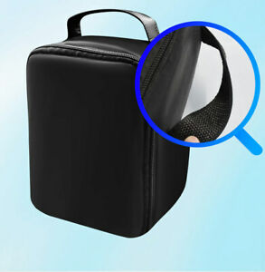 Portable Projector Bag for Mini DLP/LCD Projector Storage Case Travel Bag Black