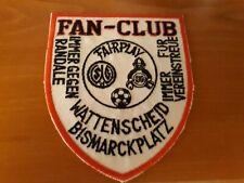 seltener und alter Wattenscheid 09 Fanclub Aufnäher Patch Kutte