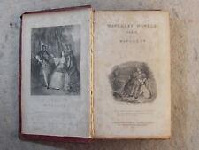 Waverley, Waverley Novels Volume I by Walter Scott 1829