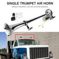 150DB Single Trumpet Air Horn Kompressor Super Laut LKW Auto Boot Zug 12V 24V